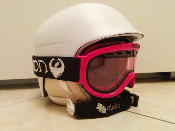 altra - RED Casco Red e maschera Dragon donna